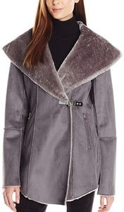 Ivanka Trump Women's Faux-Shearling Jacket XL